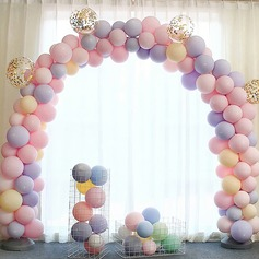 Simple Colorful Emulsion Balloon