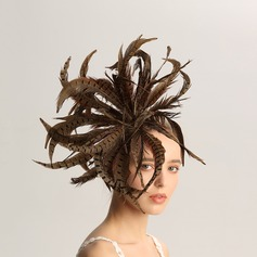 Ladies' Fashion/Special/Glamourous/Elegant/Unique/Fancy/Romantic/Vintage/Artistic Feather Fascinators/Kentucky Derby Hats