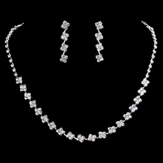 Elegant Alloy/Rhinestones Women's/Ladies' Jewelry Sets