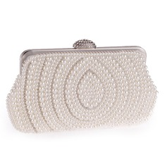Delicate Crystal/ Rhinestone/Imitation Pearl Clutches/Wristlets