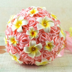 Attractive Round Foam Bridal Bouquets