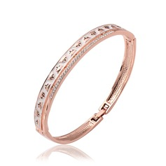Fashional Alloy/Rose Gold Plated Ladies' Bracelets