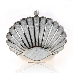 Elegant Stainless Steel Clutches/Wristlets/Fashion Handbags/Makeup Bags