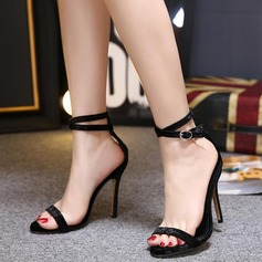Women's Stiletto Heel Sandals Peep Toe shoes
