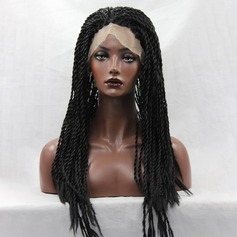 Curly Synthetic Hair Lace Front Wigs 400g