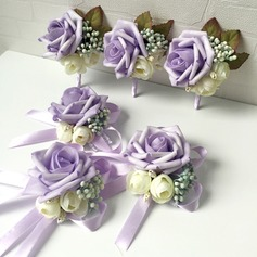 Gorgeous Foam Flower Sets (set of 2) - Wrist Corsage/Boutonniere