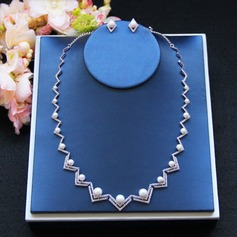 Romantic Zircon Ladies' Jewelry Sets