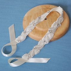 Ladies Charming Satin Headbands With Rhinestone (Sold in single piece)