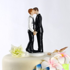 Same Sex Resin Wedding Cake Topper