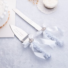 Classic Theme Serving Sets With Ribbons/Rhinestone (121124218)