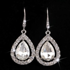 Classic Alloy Rhinestones With Rhinestone Ladies' Fashion Earrings (137106211)