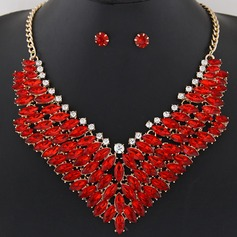 Beautiful Alloy Resin Ladies' Jewelry Sets
