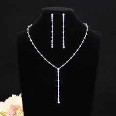 Nice Zircon Ladies' Jewelry Sets