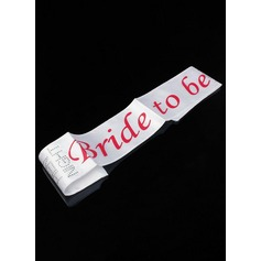 Bride To Be Satin Utdrikningslag Sash