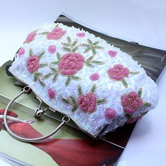 Refined Beading Clutches/Wristlets