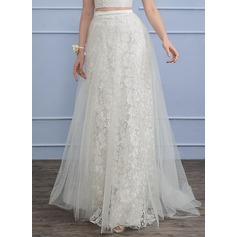 Separates Sweep Train Tulle Lace Wedding Skirt