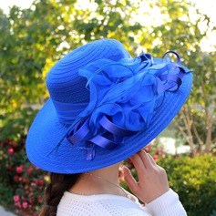 Ladies' Elegant Organza Floppy Hat