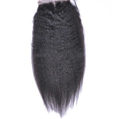 "4""*4"" 5A Virgin/remy Straight Human Hair Closure (Sold in a single piece) 120g"