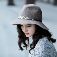 Ladies' Gorgeous/Elegant Wool Floppy Hat