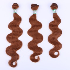 Body Synthetic Hair Human Hair Weave (Sold in a single piece) 70g