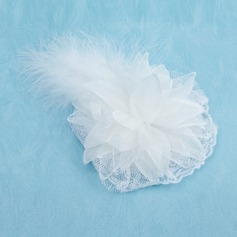 Gorgeous Feather/Tulle Flowers & Feathers