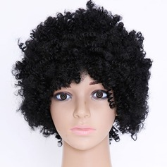 Kinky Curly Synthetic Hair Synthetic Wigs 190g