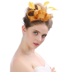 Ladies' Beautiful/Lovely/Fashion Cambric With Feather Fascinators