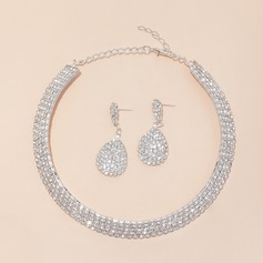 Brillant Alliage/Strass Dames Parures (011129635)