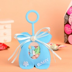 """""""Baby"""" Handbag shaped Favor Bags With Pearl/Bow"""