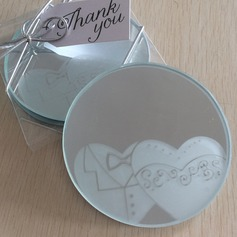 Round/Animal Shaped Resin/Glass Place Card Holders