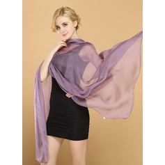 Solid Color Light Weight/fashion/simple Mulberry silk Scarf (204172468)