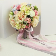 Charming Satin Bridal Bouquets -
