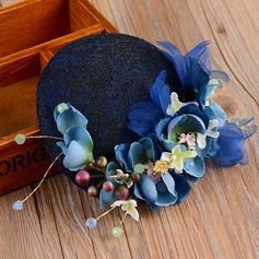 Ladies' Gorgeous Cambric/Lace With Silk Flower Fascinators