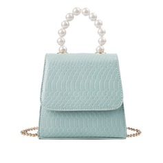 Charming PU Clutches/Satchel