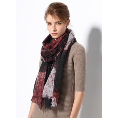Color Block Oversized/simple/Cold weather Cashmere Scarf (204174000)