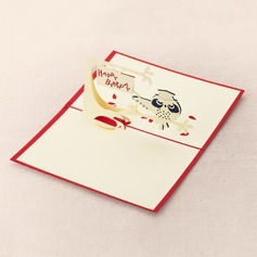 Three-dimensional Owl Greeting Cards