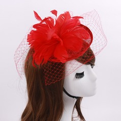 Ladies' Fashion Cambric/Feather/Net Yarn With Tulle Fascinators