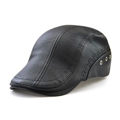 Men's Special Polyester Peaked Cap