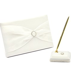 Simple Strass/Arc Livres d'or & Ensemble de crayon