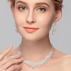 Gorgeous Crystal Ladies' Jewelry Sets