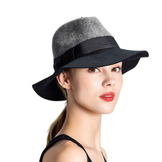 Ladies' Elegant/Simple Wool Bowler/Cloche Hats