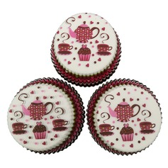 Nice Pearl Paper Cupcake Wrappers