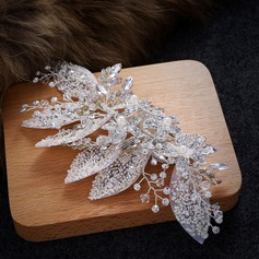 Ladies Classic Rhinestone/Alloy/Imitation Pearls Hairpins (042120893)
