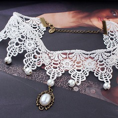 Gorgeous Alloy/Lace Women's Necklaces