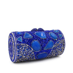Pillow bag Crystal/ Rhinestone Clutches/Luxury Clutches