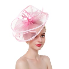 Signore Occhi-cattura/Fascino/Romantico Piuma/Filato netto con Piuma Fascinators/Kentucky Derby Hats