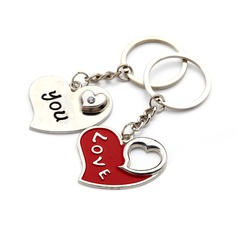 Personalized Cut-out Love Zinc Alloy Keychains