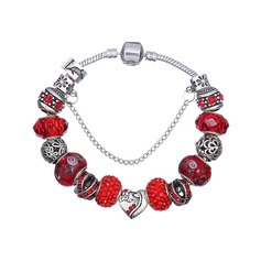 Shining Alloy Women's Fashion Bracelets (Sold in a single piece)