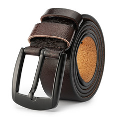Groomsmen Gifts - Personalized Modern Leather Men's Belt
