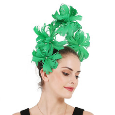 Ladies' Unique/Amazing Feather With Feather Fascinators/Kentucky Derby Hats